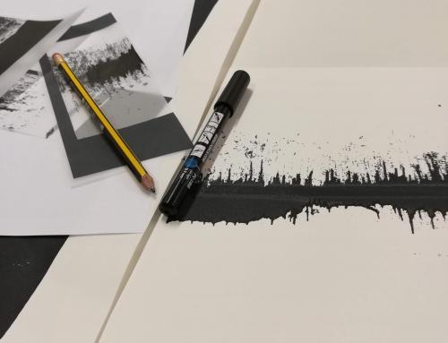 Print as Interface – Artist talk at John Lennon School of Art.